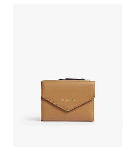 MICHAEL MICHAEL KORS Blakely Jet Set small leather wallet (Acorn