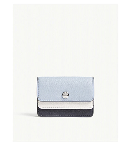 MICHAEL MICHAEL KORS Money Pieces double-flap small leather card case (Adm/plbl/opw