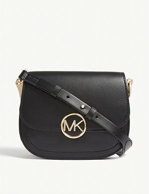 MICHAEL MICHAEL KORS - Selma mini cross-body satchel  18417dde67af0
