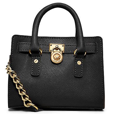 MICHAEL KORS Hamilton mini bag (Black