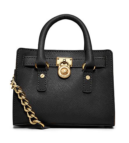 MICHAEL MICHAEL KORS Hamilton mini bag (Black