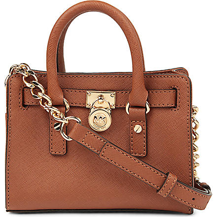 MICHAEL KORS Hamilton mini cross-body bag (Luggage