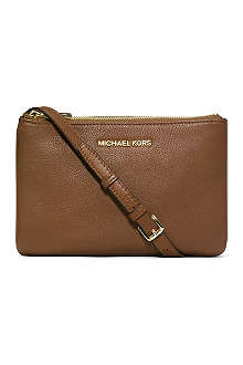 MICHAEL KORS Bedford leather cross-body bag