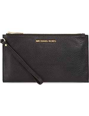 MICHAEL MICHAEL KORS Venus soft leather pouch