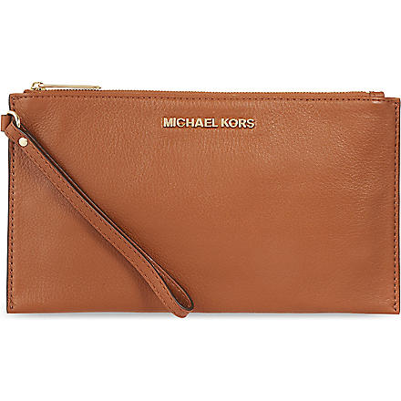 MICHAEL KORS Soft Venus pouch (Luggage