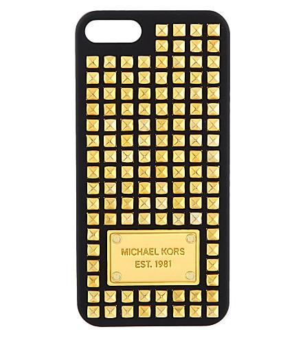 MICHAEL MICHAEL KORS Studded phone case (Black