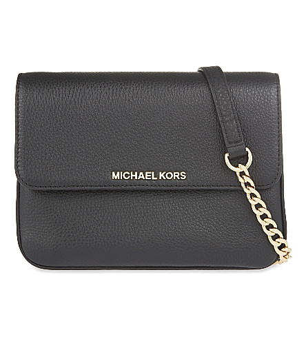 MICHAEL MICHAEL KORS Bedford gusset cross-body (Black