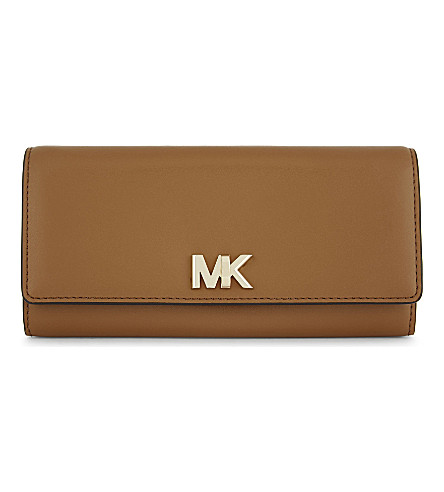 MICHAEL MICHAEL KORS Mott leather wallet (Acorn