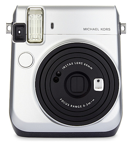 MICHAEL MICHAEL KORS Instax Mini 70 camera (Silver