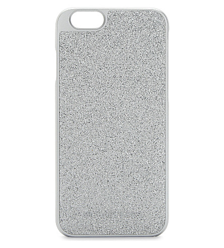 MICHAEL MICHAEL KORS Glitter iPhone 6/6s case (Silver