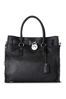 MICHAEL KORS Hamilton large leather tote
