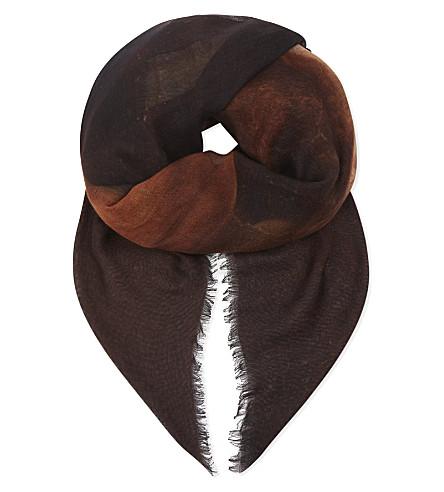 GIVENCHY Faune silk scarf (Multi