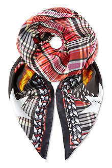 GIVENCHY Doberman twill scarf