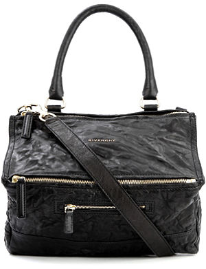 GIVENCHY Pandora medium washed leather across–body bag