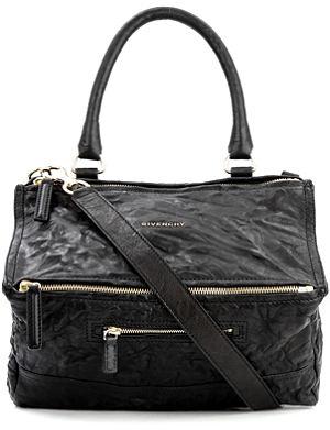 GIVENCHY Pandora medium washed leather across–body bag