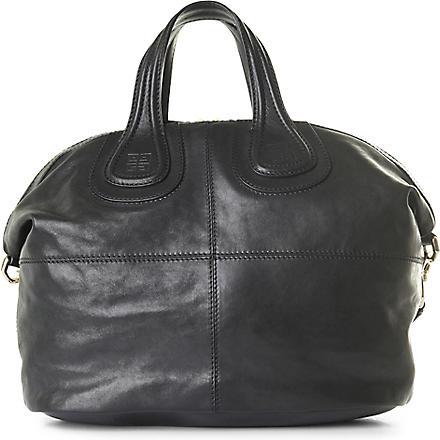 GIVENCHY Nightingale medium shoulder bag (Black