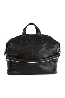 GIVENCHY Nightingale large shiny leather shoulder bag