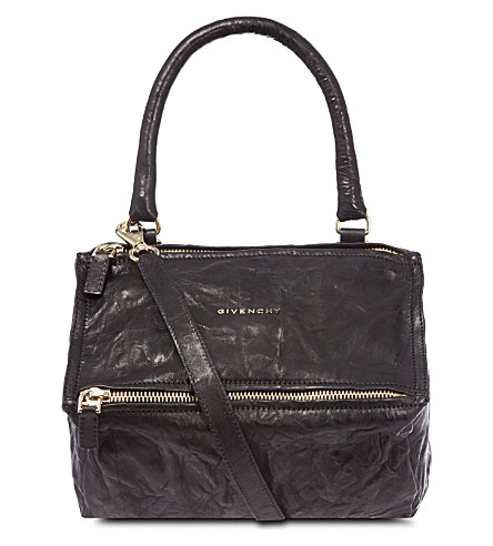 GIVENCHY Pandora mini leather shoulder bag (Black
