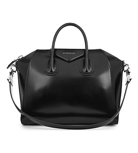 GIVENCHY Antigona medium smooth-leather tote (Black