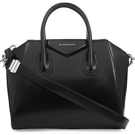 GIVENCHY Antigona smooth small tote (Black