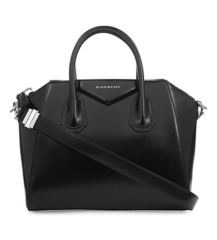 GIVENCHY Antigona small smooth-leather tote (Black