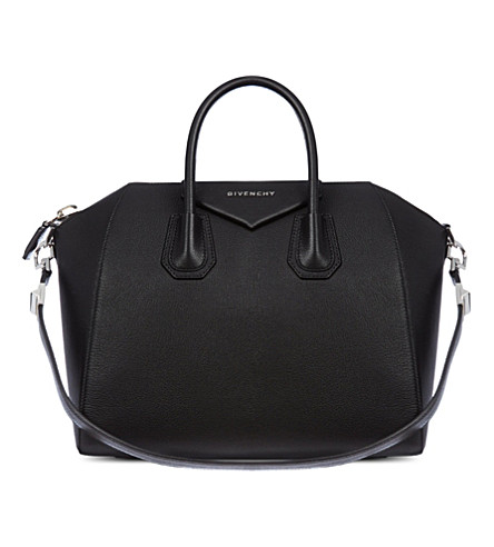 GIVENCHY Antigona medium soft-grain leather tote (Black