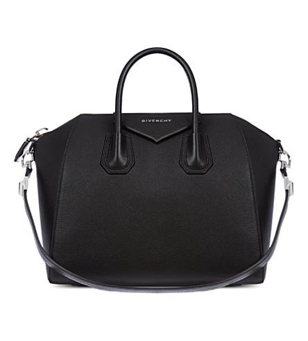 GIVENCHY Antigona medium grainy leather tote (Black