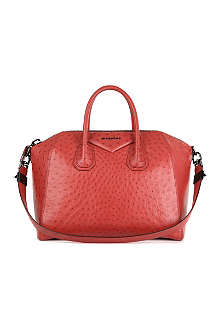 GIVENCHY Antigona medium ostrich tote
