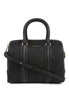 GIVENCHY Lucrezia medium pebbled-leather bowling bag