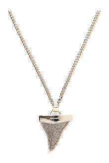 GIVENCHY Sparkle Shark Tooth pendant necklace