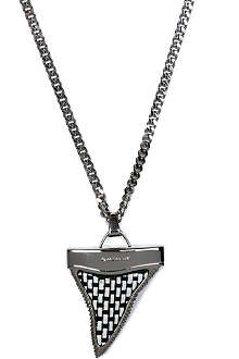 GIVENCHY Woven shark necklace