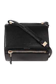 GIVENCHY Pandora leather box mini satchel