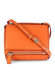 GIVENCHY Pandora Palma small leather box satchel