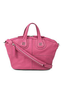 GIVENCHY Nightingale mini grainy leather shoulder bag