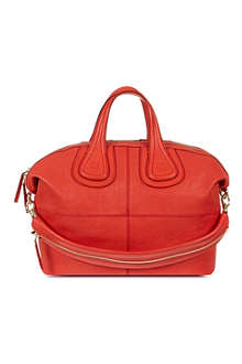 GIVENCHY Nightingale zanzi leather tote