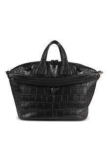 GIVENCHY Nightingale croc shoulder bag