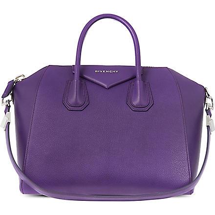 GIVENCHY Grainy Antigona tote (Purple