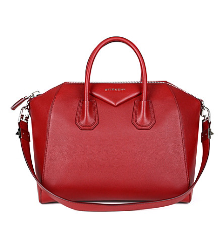 GIVENCHY Antigona medium soft-grain leather tote (Wine