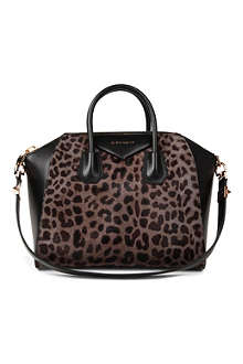 GIVENCHY Antigona medium leopard-print tote