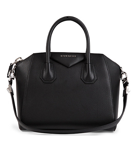 GIVENCHY Antigona small grainy leather tote (Black