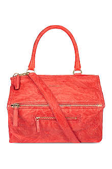 GIVENCHY Pandora washed leather satchel