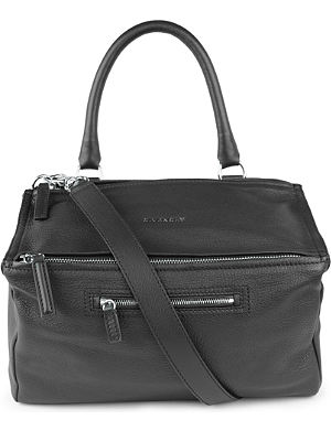 GIVENCHY Pandora medium grainy leather satchel