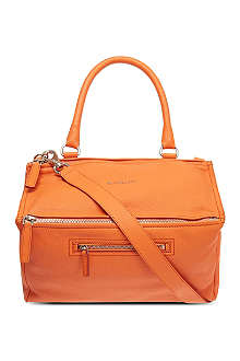 GIVENCHY Pandora sugar leather satchel