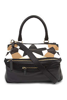 GIVENCHY Medium patchwork-leather Pandora bag