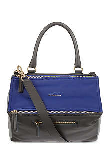 GIVENCHY Pandora tri-colour matte leather satchel
