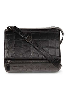 GIVENCHY Pandora leather box satchel