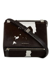 GIVENCHY Pandora box calfskin shoulder bag