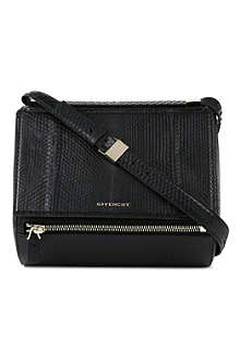 GIVENCHY Pandora python-embossed box bag