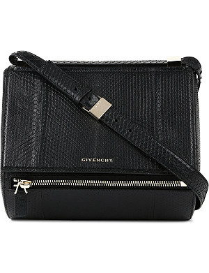 GIVENCHY Pandora python-embossed box bag