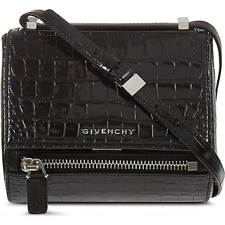 GIVENCHY Pandora small box satchel (Black